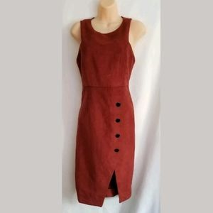 NWT Forever 21 Sleeveless Rust Dress Size Small